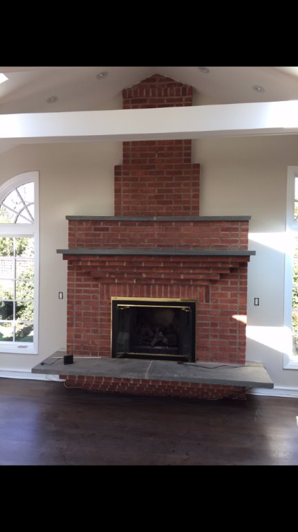Family Room Fireplace Restoration