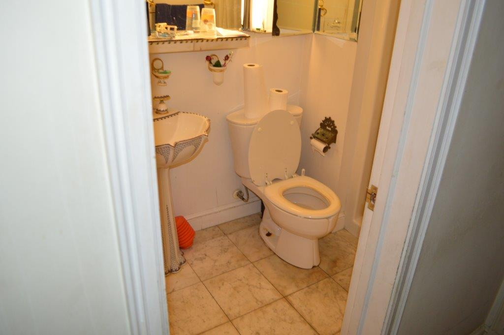 "HANDICAP BATHROOM PROJECT ""BEFORE"""
