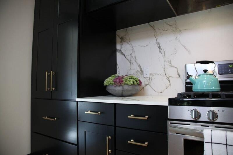 Dark Kitchen Cabinet Project